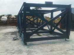 conveyor steel structure